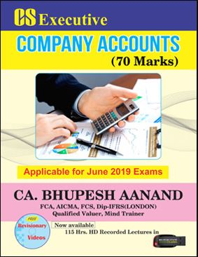 CS Executive  Company Accounts