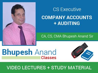 CS Executive Company Accounts and Auditing Practices Video