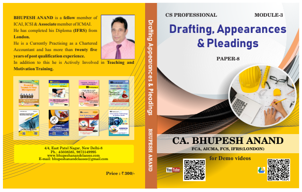 Drafting , appearances & Pleadings
