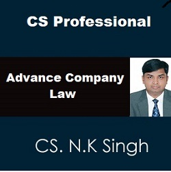CS Professional Advance Company Laws New Syllabus