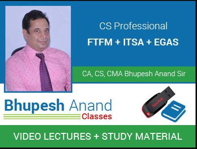 CS Professional Financial Management Video Classes
