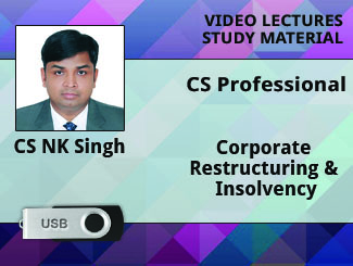 CS Professional-Corporate Restructuring valuation and insolvency