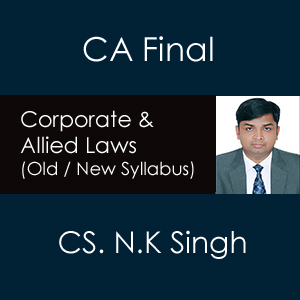 CA Final Corporate and Allied Laws