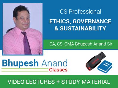 Ethics, Governance and Sustainability (EGAS)