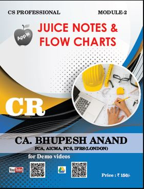CS Professional Juice Notes & Flow Charts