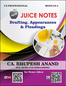 Juice Notes Drafting, Appearances & Pleadings