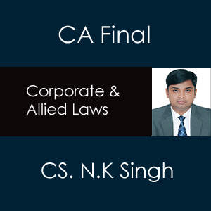 CA FINAL- Corporate and Allied Laws Law Face To Face Enrollment