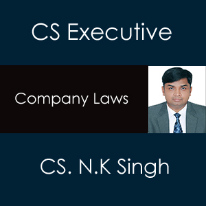 CS Executive Company Law Video Classes