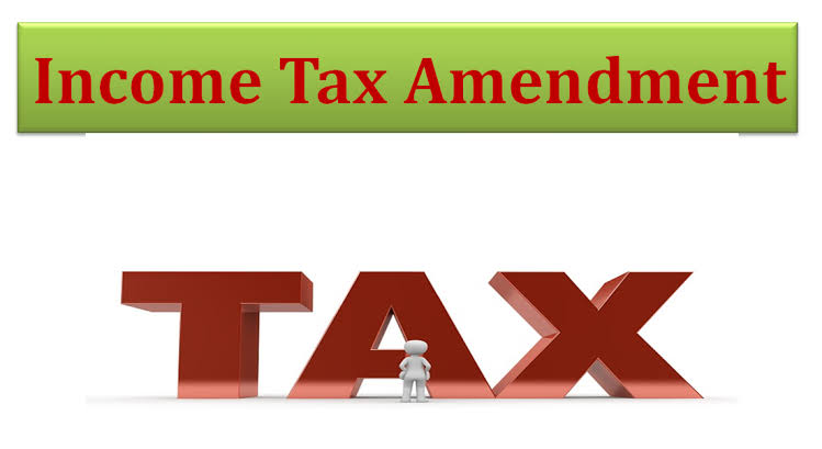 Direct Tax Amendment Hand Written Notes in Soft Copy Format